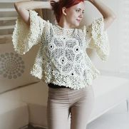 Crochet Blouse Pattern