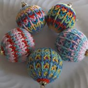 Christmas Bauble Free Pattern