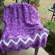 Purple Passion afghan