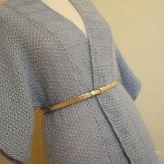 Ice Blue kimono