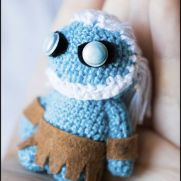 White walker Amigurumi - Game of Thrones - La Calabaza de Jack