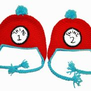 Thing 1 & Thing 2 Ear Flap Beanies