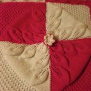 3 row leaf blanket