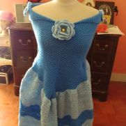 Della's Cinderella Blanket Dress