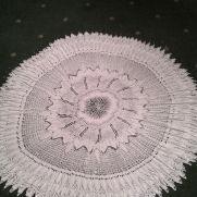 vintage rose shawl
