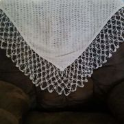 lover's knot shawl
