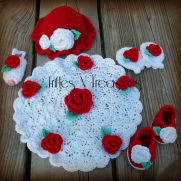 Newborn Treasured Rose Set