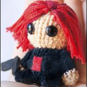 Black Widow Amigurumi - Marvel - La Calabaza de Jack