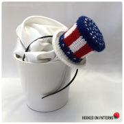 Stars & Stripes Mini Top Hat Fascinator