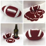 Football Coaster Set - American