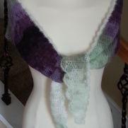 Lavender Sachet Shawlette