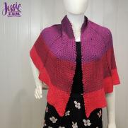 Dragon Wing Crochet Shawl