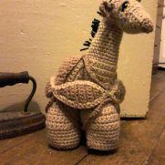 Giraffe Amamani Puzzle Ball