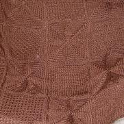 Textured Blocks Afghan