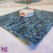 Strand of Diamonds Washcloth