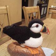 Crochet Puffin