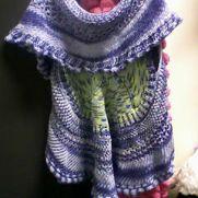crochet shawl jacket