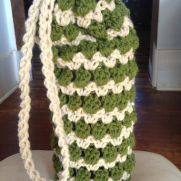 Crocheted Bottle Holder