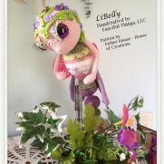 LiBelly - A Crochet Amigurumi Dragonfly