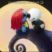 Jack & Sally Amigurumi - Nightmare before Christmas - La Calabaza de Jack