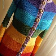 Chakra cotton cardigan