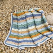 'Just beachy' blanket