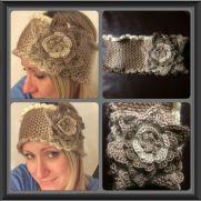 Victorian Rose Headband