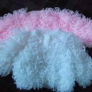 loopy crochet jackets