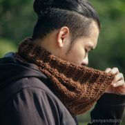 latte neck warmer cowl