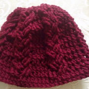 Braid Crochet hat