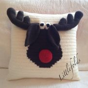 Happy ChrisMoose Cushion/Pillow