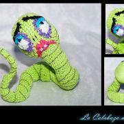Corpse Bride Crochet Worm