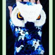 Majestic Owl Mitts