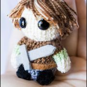 Arya Stark Amigurumi - Game of Thrones - La Calabaza de Jack