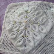 3 row leaf blanket