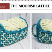 The Moorish Lattice reversible purse