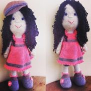 With or without hat amigurumi doll