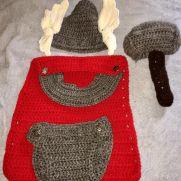Thor baby photo prop