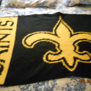 Saints afghan