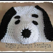 Oh, That Beagle! Crochet Hat
