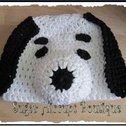 Oh, That Beagle! Crochet Hat
