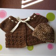 Baby sweater n beanie hat
