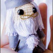 Albus Dumbledore Amigurumi - Harry Potter - La Calabaza de Jack
