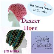 Desert Hope Slouch Beanie