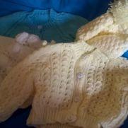 finished knitting