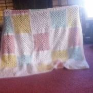 patchwork child's afghan