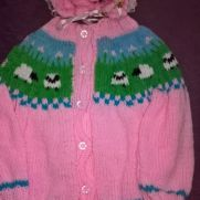 sheep jacket and hat