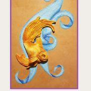 Wall hanging-Fantail Goldfish