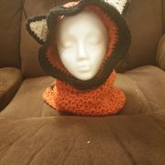 hooded fox cowl