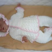 Full Newborn Baby 4 piece Outfit